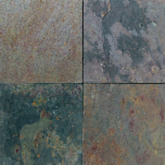 American Olean Slate Collection Indian Multicolor