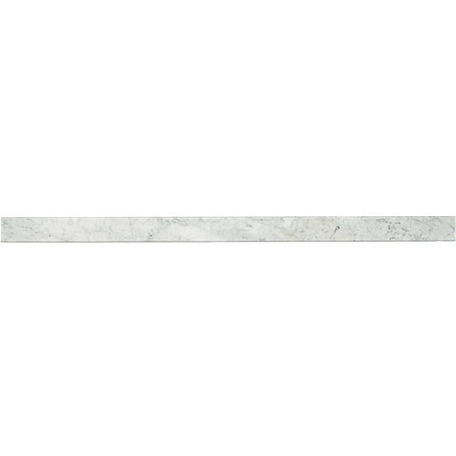 Daltile Marble Collection Carrara White Thresholds M - Daltile marble threshold
