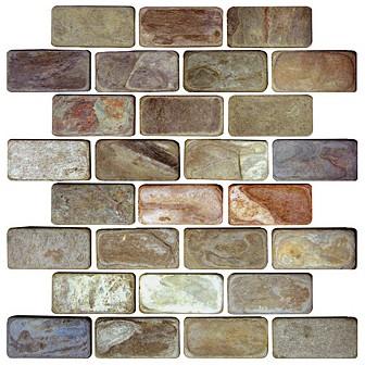 Autumn Mist Brick Joint Natural Cleft S772 4990