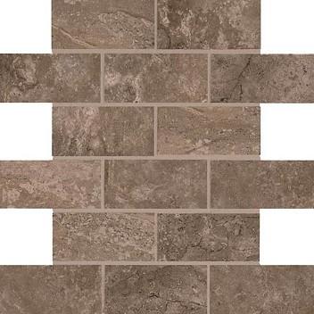 Brown Pinnacle Ceramic Mosaic Tile Lh97 2662
