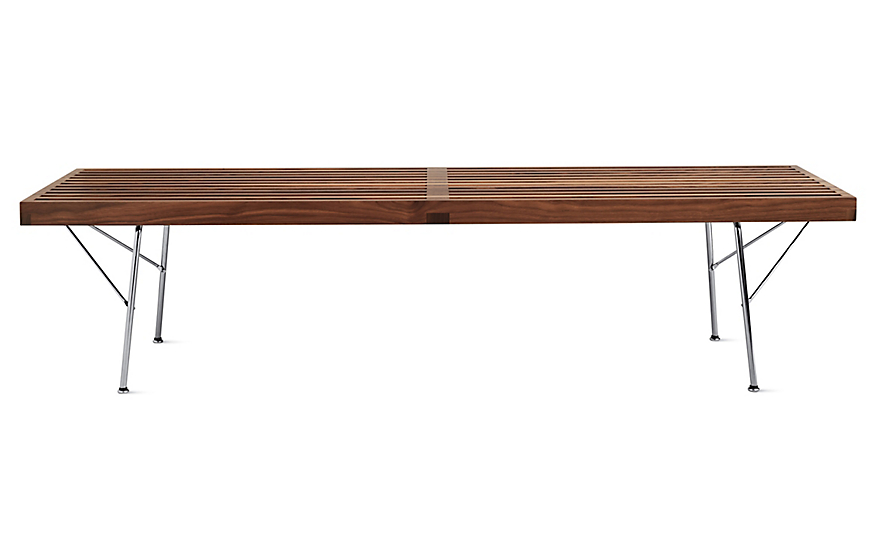 Awesome Nelson Platform Bench Metal Leg Andrewgaddart Wooden Chair Designs For Living Room Andrewgaddartcom