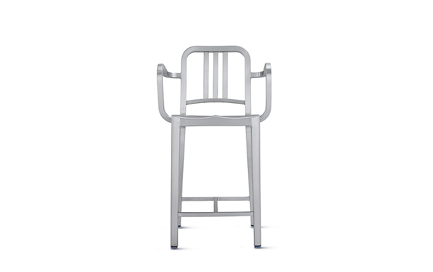 1006 Navy® Counter Stool with Arms