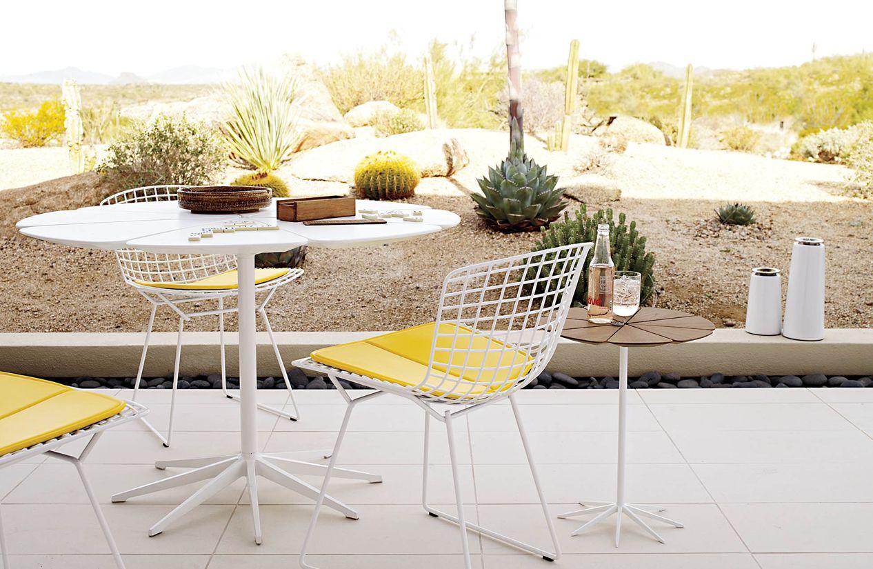 Table Florence Knoll Prix petal® dining table