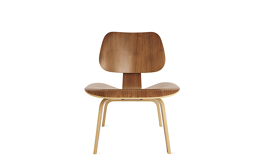 Eames® Molded Plywood Lounge Chair (LCW)