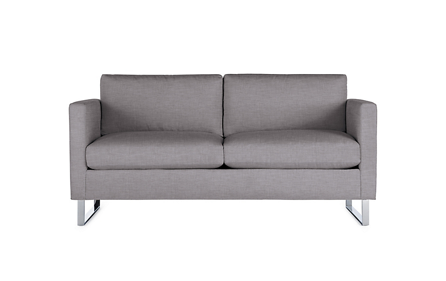 goodland two seater sofa design within reach rh dwr com two seater sofa bed two seater sofa design
