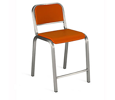 Nine-0™ Stacking Counter Stool - Soft Back