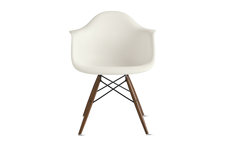 Outstanding Eames Molded Plastic Dowel Leg Armchair Daw Ocoug Best Dining Table And Chair Ideas Images Ocougorg