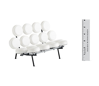 Vitra Miniatures Collection: Marshmallow Sofa