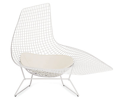 bertoia asymmetric chaise design within reach - Chaise Bertoia