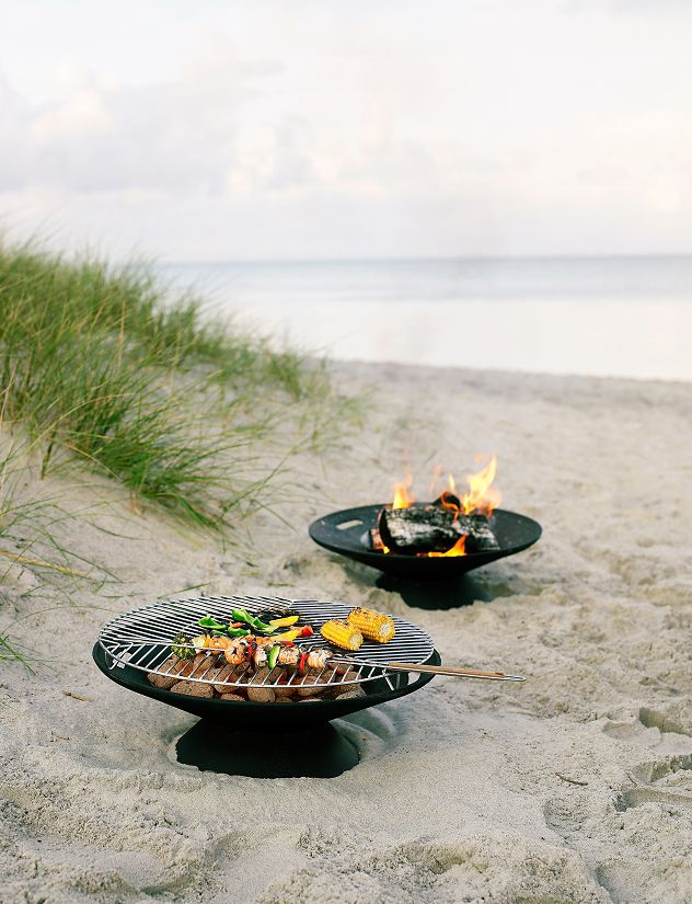 Fire Bowl Stainless Steel Grill Top