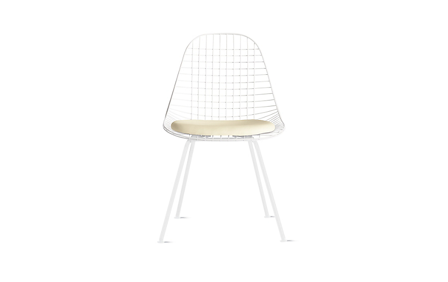 Eames® 4-Leg Wire Chair with Seat Pad (DKX.5)