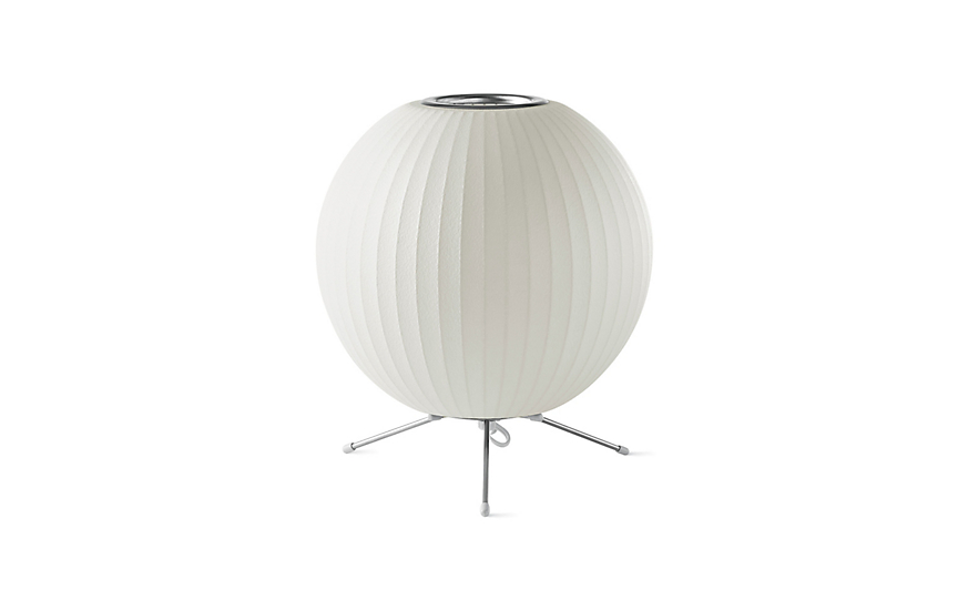 Nelson® Ball Lamp with Stand