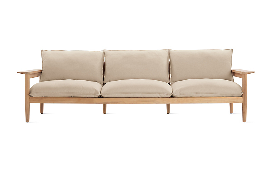 Terassi Three Seater Sofa Design Within Reach