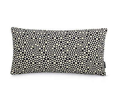 Maharam Pillow in Checker Split