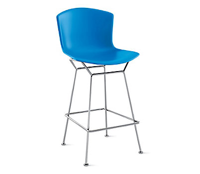 Bertoia Molded Shell Counter Stool