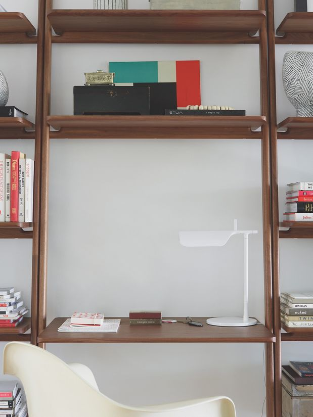 "Folk Ladder 32"" Desk Shelving"