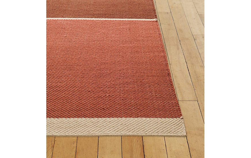 Maharam Merger Rug, Red, 5' x 7' by Design Within Reach Product Image