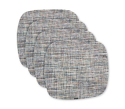 Chilewich Bouclé Abstract Placemats, Set of 4