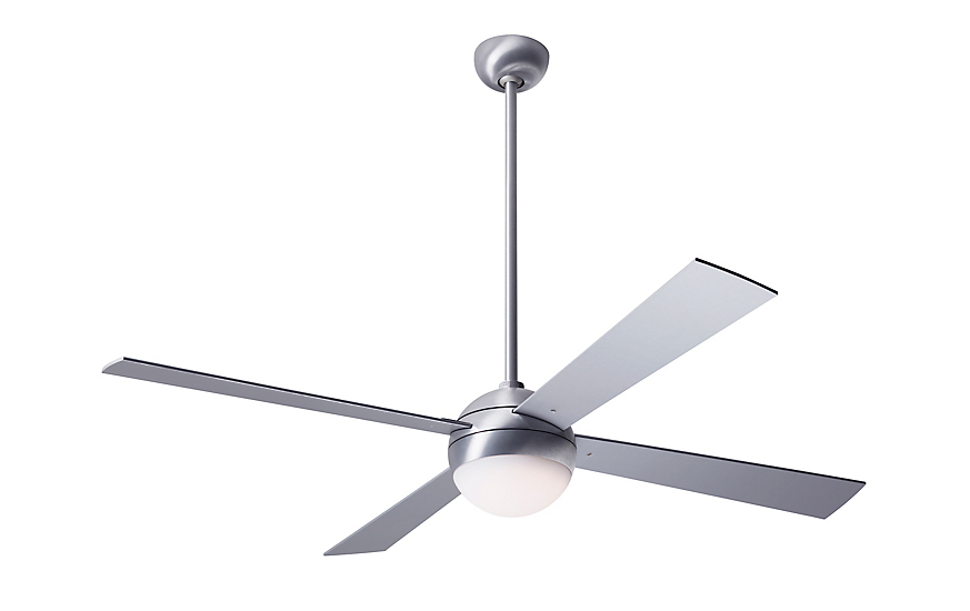 Ball Ceiling Fan with LED Light and Remote