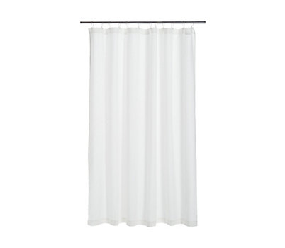 DWR Honeycomb Shower Curtain
