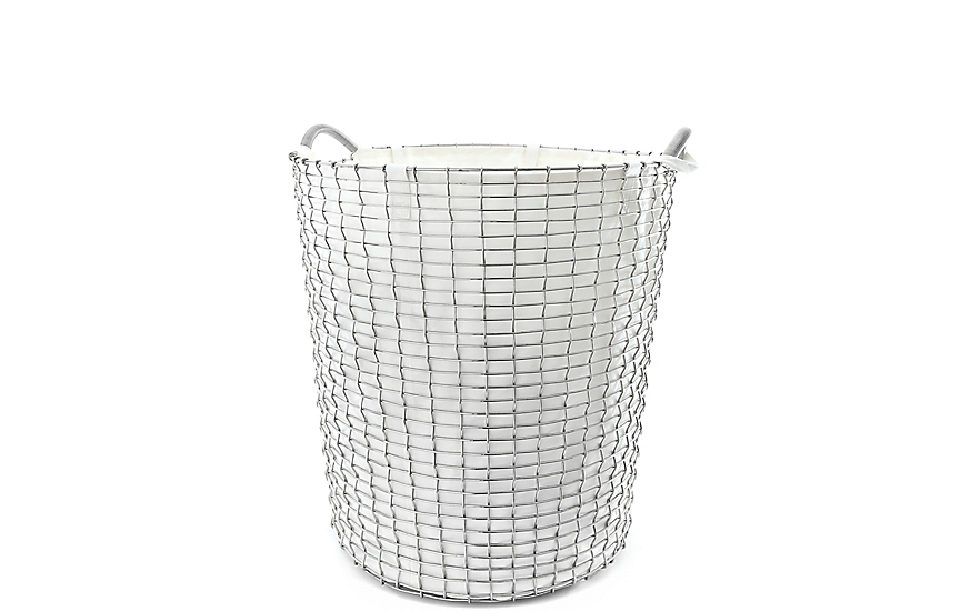 Korbo Handmade Wire Basket, Classic 80 with Liner