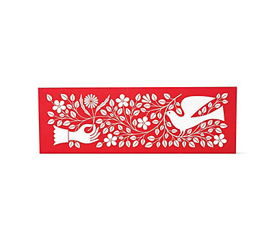 Girard Environmental Enrichment Panel, Hand and Dove