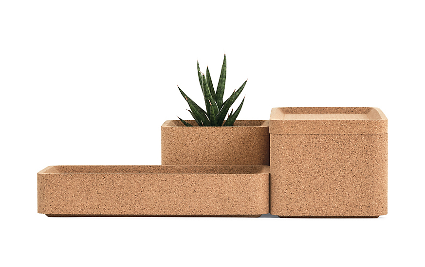 Trove Square Deep Box With Lid by Design Within Reach