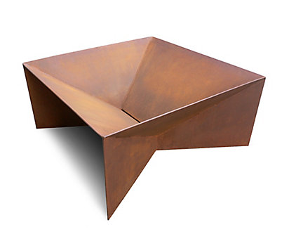 Plodes® Geometric Fire Pit