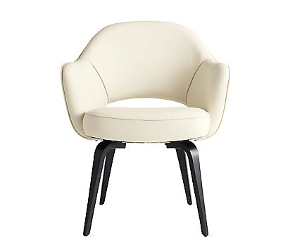 Saarinen Executive Armchair with Wood Legs
