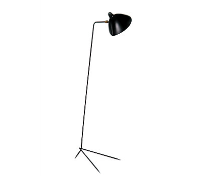 Serge Mouille One-Arm Floor Lamp