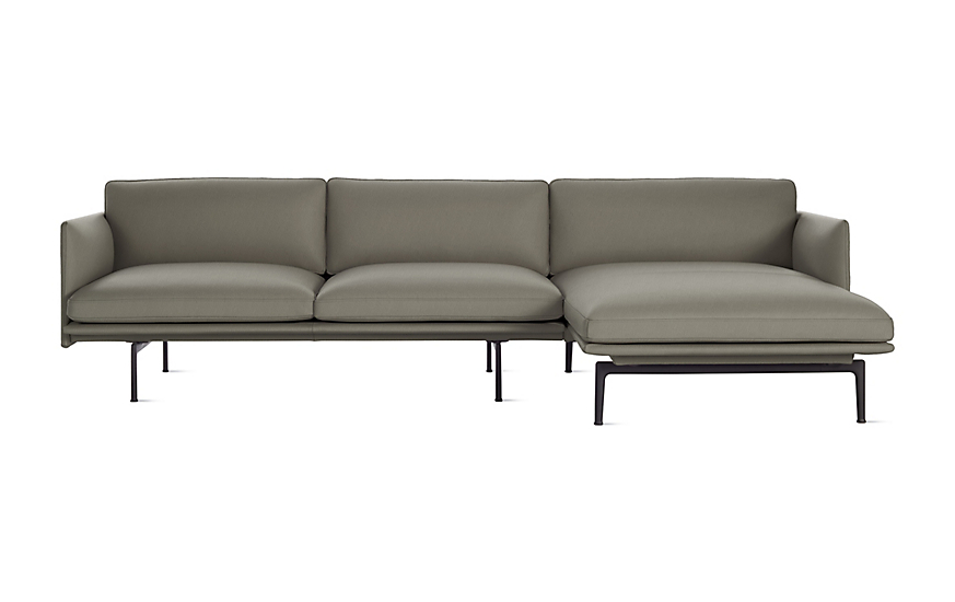 Outline Sectional with Chaise