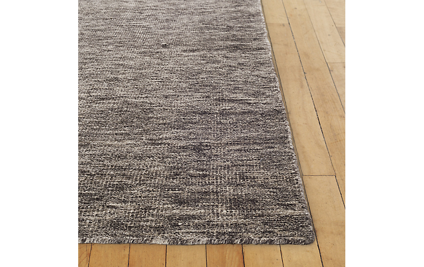 Woven Luna Rug, Grey/Brown, 8' x 10' at DWR Product Image