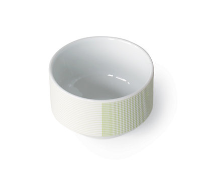 Maharam Pattern Porcelain Cup