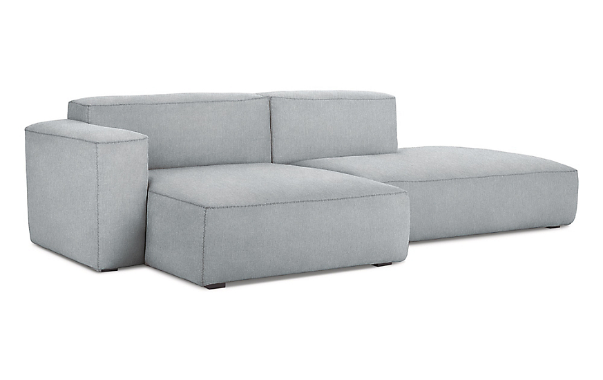 Pleasing Mags Soft Low Sectional With Chaise Bralicious Painted Fabric Chair Ideas Braliciousco