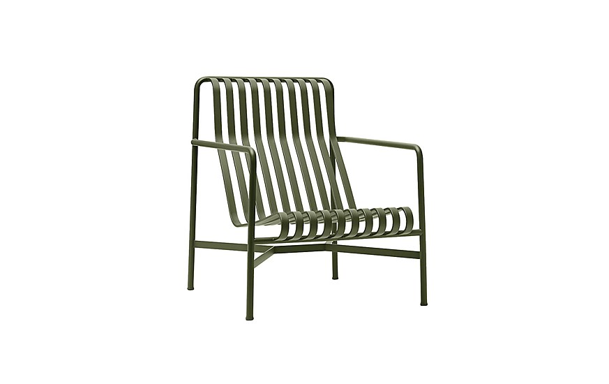 Palissade Lounge Chair High Outdoor Furniture Hay