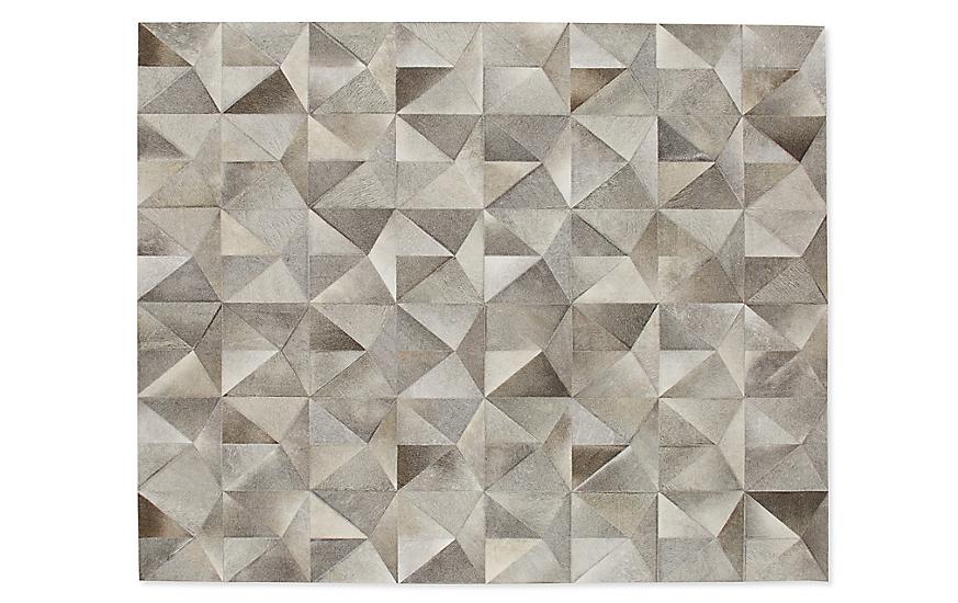 Diamond Cowhide Rug Carpets Design