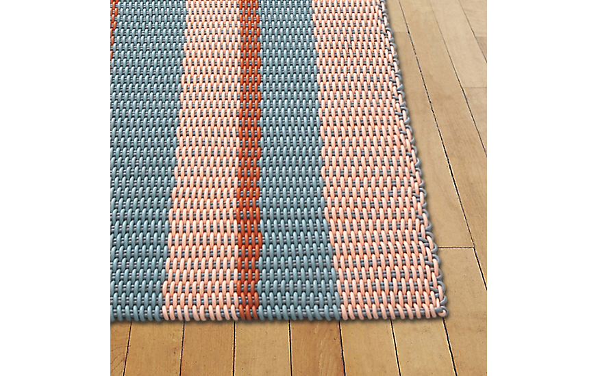 Solid Stripes Floor Mat