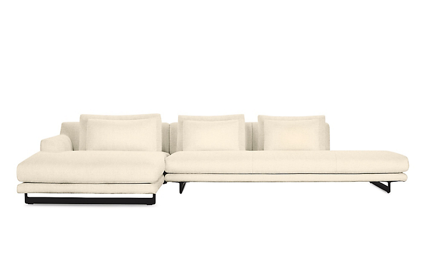 Lecco Open Sectional with Chaise