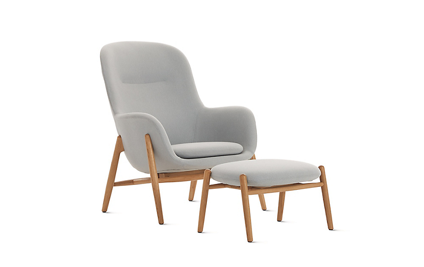 Superb Nora Lounge Chair And Ottoman Machost Co Dining Chair Design Ideas Machostcouk