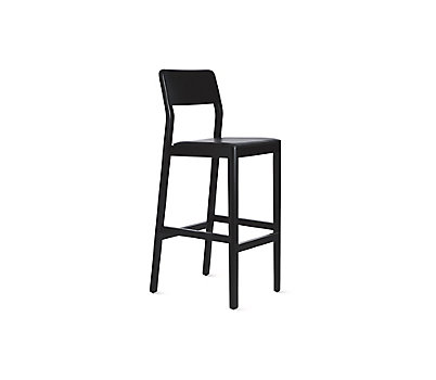 Note Upholstered Barstool
