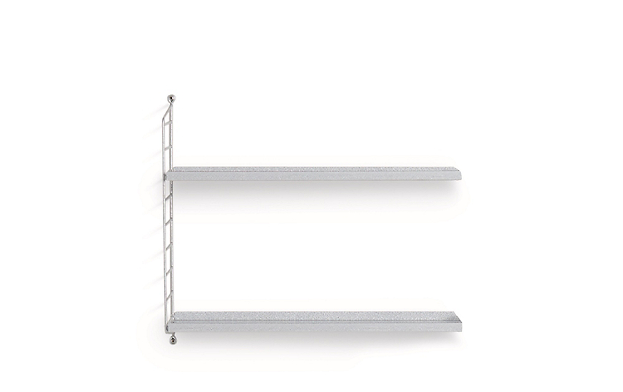 String Galvanized Wall Shelving Extension