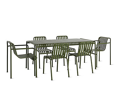 Palissade Dining Table and Chair Set
