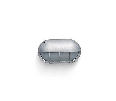 Oval Bulkhead Light, Aluminum