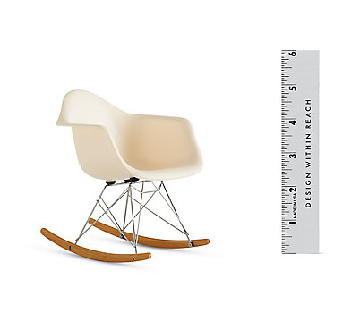 Vitra Miniatures Collection: Eames Molded Rocker (RAR)
