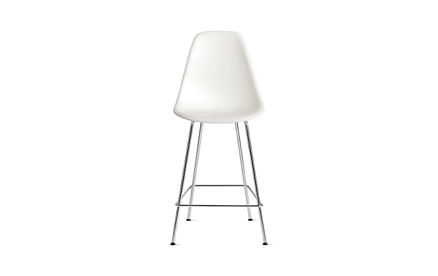 Eames® Molded Plastic Counter Stool, DSHCX