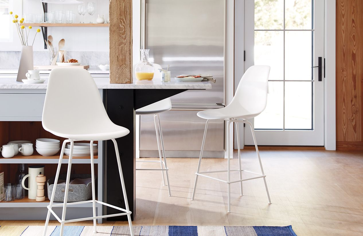 Eames Molded Plastic Counter Stool Dshcx