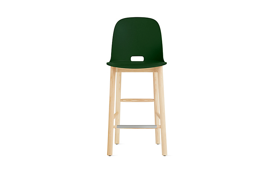 Alfi High-Back Counter Stool
