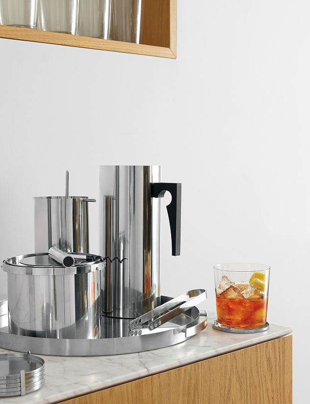 Cylinda Line Cocktail Mixer with Spoon