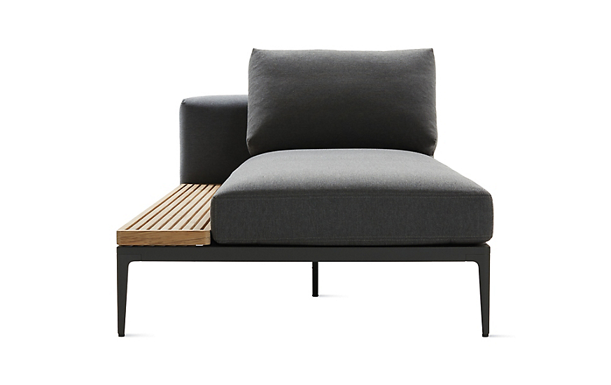 Grid Sofa Chaise