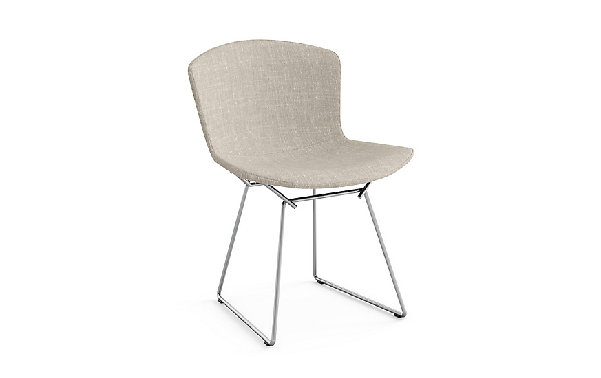 Cool Bertoia Side Chair With Full Cover In Classic Boucle Gmtry Best Dining Table And Chair Ideas Images Gmtryco